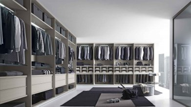 MODERN ITALIAN WALKING CLOSET SYSTEMS