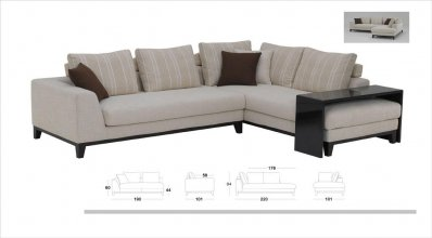 Modern Sectional Sofa KK2307