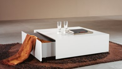 Modern Coffe Table with storage KEEP