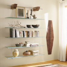Modern Bookcase/Roomdivider CTNUVOLA
