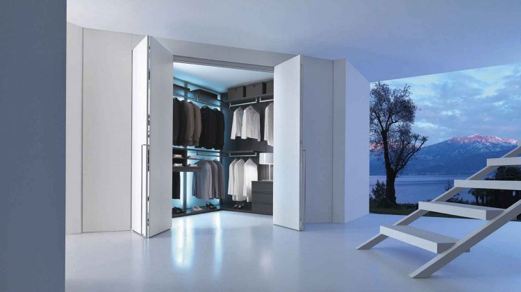 MODERN ITALIAN WALKING CLOSET SYSTEMS - Click Image to Close