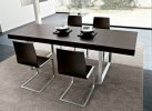 Modern Dining Table S-New Flat Metal
