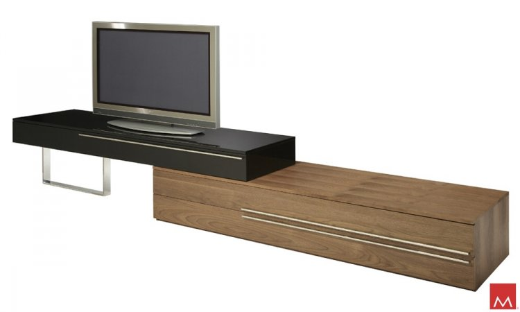 Modern TV Stand Gramercy - Click Image to Close