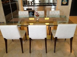 "Modern Italian Dining Table Cattelan Italia ""Monaco"""