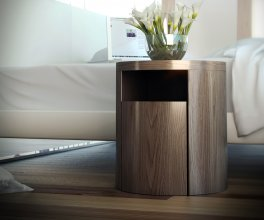 Modern Mulberry Nightstand