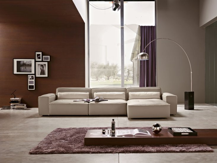 Modern Italian Sofa by Polaris DOMINO [domino] - $8,960.00 :